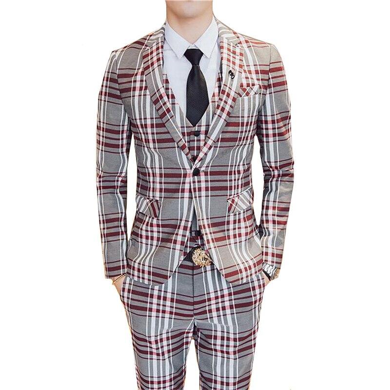 Custom Made wedding suit boy suit jacket pant vest