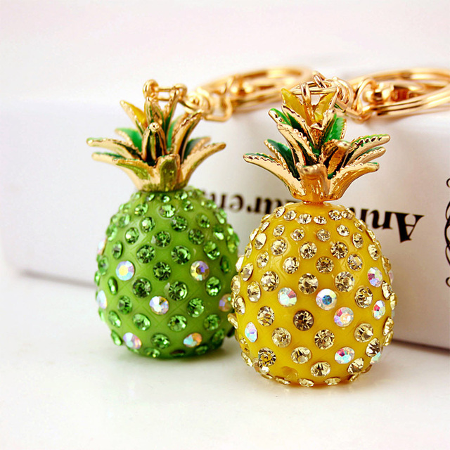 Pineapple Accessories small gifts fashion exquisite pineapple key pendant accessories