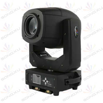 230W LED Moving Head Spot Zoom Light LED Lyre with Flight Case for DJ Nightclub Party/SX-MH230A