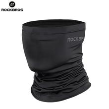 ROCKBROS летние велосипедные головные уборы анти-пот дышащие велосипедные шапки бег велосипедный бандана спортивный шарф маска для лица для мужчин женщин