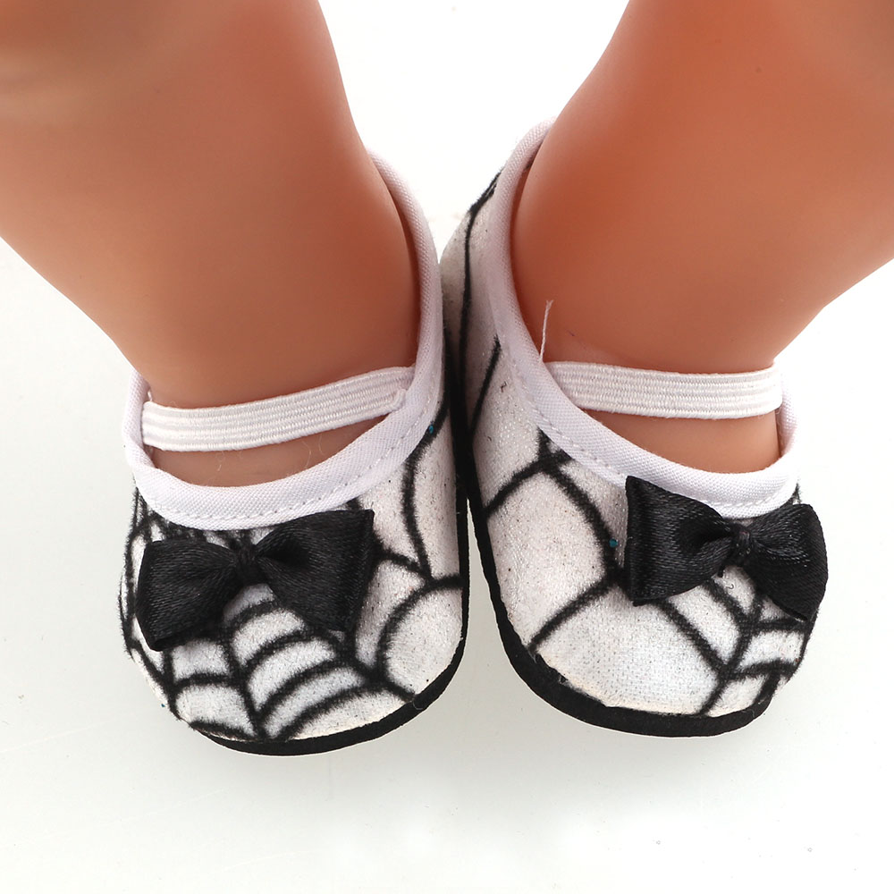 New Fashion Spider Design Shoes For 43cm - Doll Shoes b676
