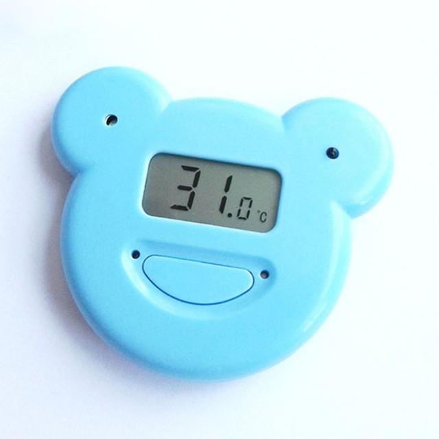 Historieta encantadora kick edredón máquina digital del bebé del vientre de advertencia termómetros mantener el calor lejos del frío