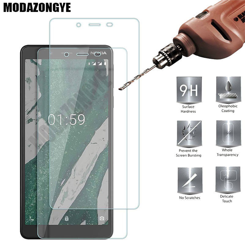 Screen Protector For <font><b>Nokia</b></font> <font><b>1</b></font> <font><b>Plus</b></font> Tempered Glass For <font><b>Nokia</b></font> 1Plus 2019 <font><b>TA</b></font>-<font><b>1130</b></font> <font><b>TA</b></font>-1111 <font><b>TA</b></font>-1123 Glass Protective Film image