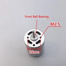 DC12V/24V Strong Power Of Front Ball Bearing 385 Motor  3800/7600 RPM DC