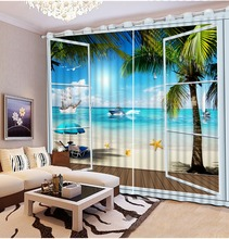 Scenery Curtains popular scenery curtains for living room-buy cheap scenery