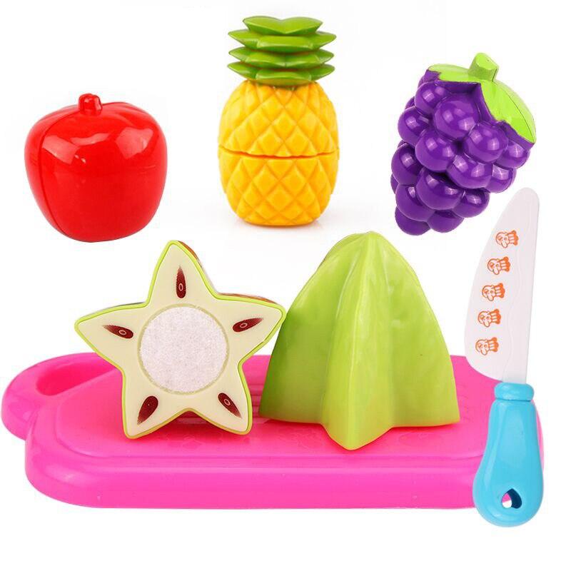 6 teile/satz Heißer Kinder Spielhaus Spielzeug Kunststoff Obst ...