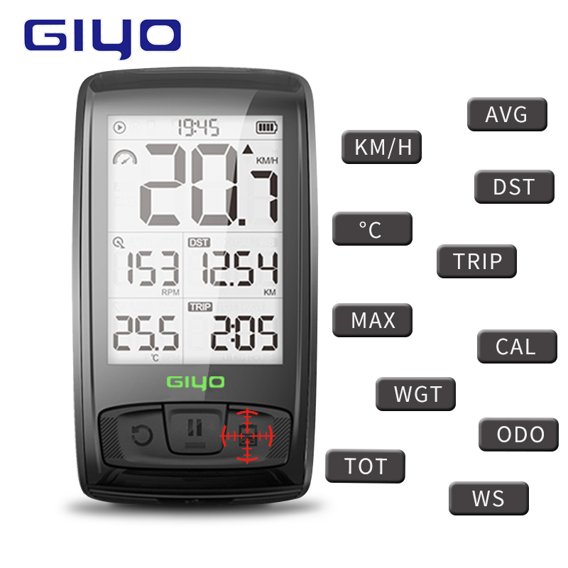 Ordinateur de vélo Bluetooth 4.0 ordinateur de cyclisme sans fil compteur étanche compteur de vitesse vélo tachymètre cadence capteur de vitesse
