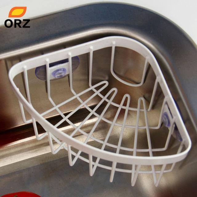 Fregadero de cocina Estante Estantes de La Esquina De Baño Estante ...
