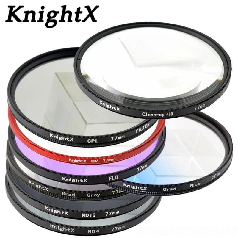 Filtro UV para cámara UV UV KnightX color para Sony Canon Nikon - Cámara y foto