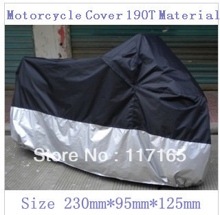 Wholesale Hight quality size 230x95x125cm Motorcycle  Cover scooter cover Racing Bike Cover 190T material Free Shipping