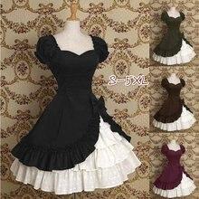 S-5XL moda feminina clássico lolita drapy vestido plissado em camadas bonito arco vestido de manga curta duas peças laço retalhos vestido med