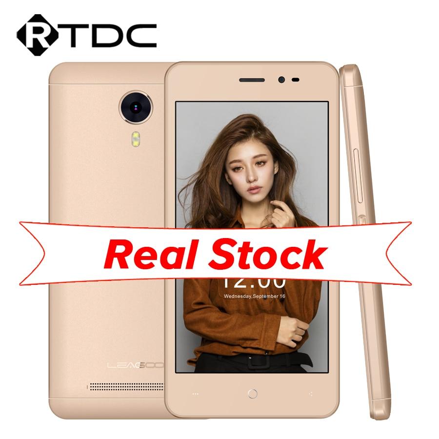 "In Stock Original Leagoo Z5 3G WCDMA Mobile Phone 5.0"" 854x480 MT6580M Quad Core Android 6.0 1GB RAM 8GB ROM 5.0MP 2000mAh"