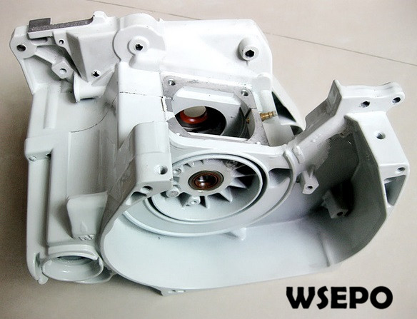Top Quality! Crank case for MS381 Small Gasoline 02 Stroke Chainsaw/Wood Spliter/Log Cutting Machine цена