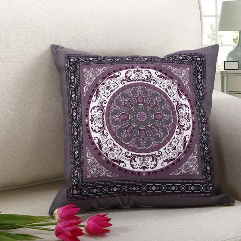 wholesale Hot sale C Exquisite European style Linen Pillow cushion Home Decorative pillow Sofa ...