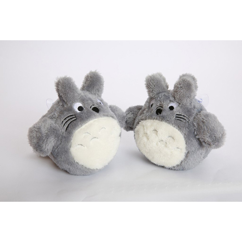 New Arrival Cute Brinquedos 2pcs Japanese font b Anime b font Gray Action Figure Stuffed Toy
