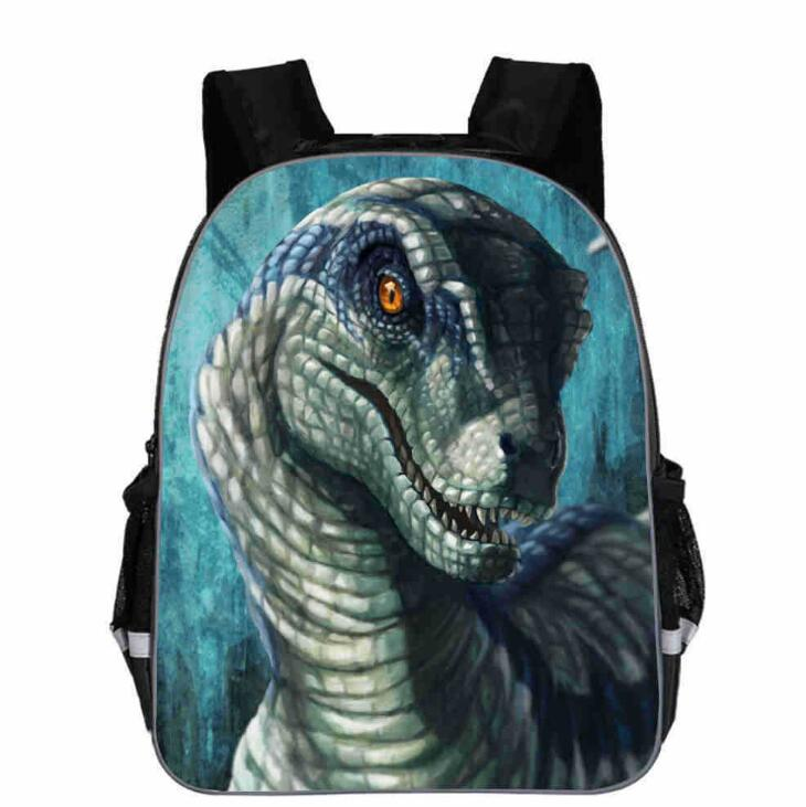 11 13 16 Inches Dinosaur World Backpack Animal Anime Jurassic Dragon School Bags Toddlers Boys Girls Teenager Mochila Gift Bolsa