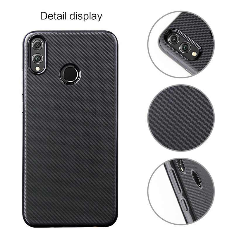 YISHANGOU Tire Carbon Fiber Soft Silicone Case For Huawei P20 P30 Pro Mate 10 20 Lite Y9 2019 Y5 Y6 Y7 2018 NOVA 3i P Smart Plus