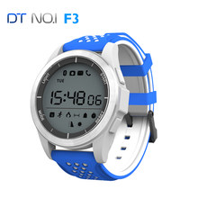 Original DTNO.I F3 Smart Watch Bracelet IP68 waterproof NO.1 Outdoor Mode Fitness Tracker Reminder Wearable Devices(China)