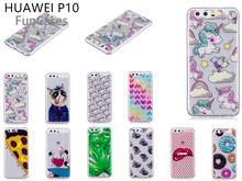 Captain Cat Case sFor Estojo Huawei P10 Soft Silicone Back Cover Bag Matte Phone Etui Case For Huawei Ascend P10 Plastic Movil(China)