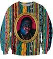 autumn new Crewneck Sweatshirt Notorious B.I.G. jumper Biggie Smalls Character print Sweats Fashion Clothing Women Men Pullover