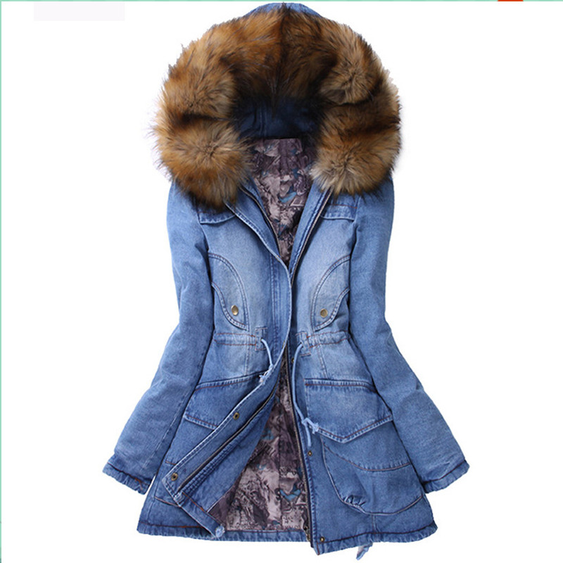 Подробнее о New Winter Womens Parkas Casual Outwear Thick Hooded Coat Warm Jackets Women Denim Jacket Coats Woman Clothes Overcoat Femme winter jacket men coats thick warm casual fur collar winter windproof hooded outwear men outwear parkas brand new