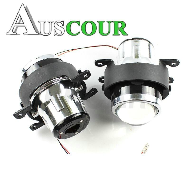 Fog Light Lens for Ford 2.5'' Full Metal Bi Xenon Projector Lens Auto H11 Fog Light modify