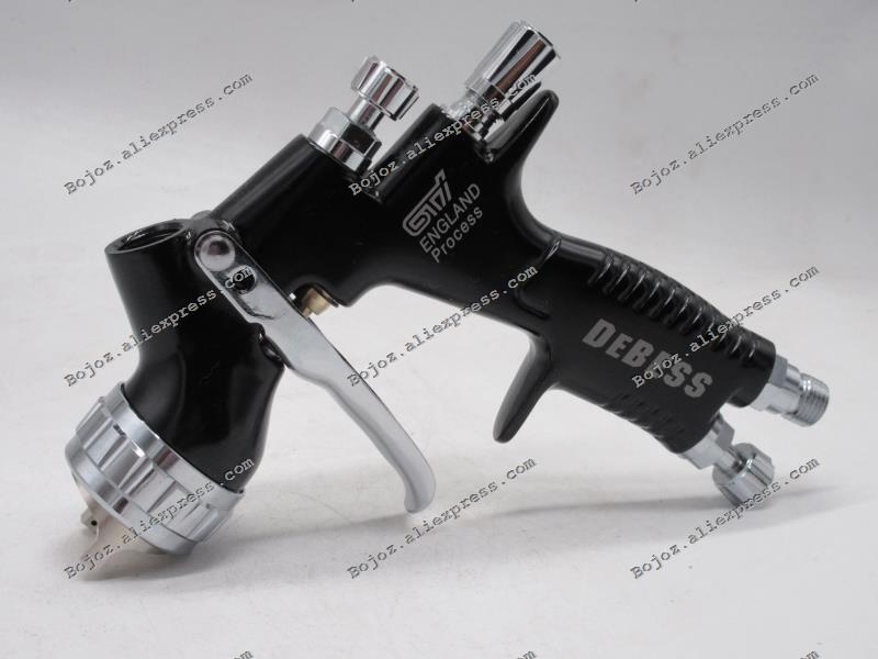 Professionale Processo Nero LITE 1.3mm ugello Spruzzatore GTI Inghilterra w/t cup per Auto Paintting Strumento Pistola A Spruzzo pistola