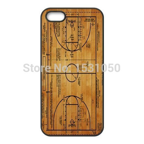 Basketball Court    Diagram    cover case for iPhone 4 5s 5c 6 7
