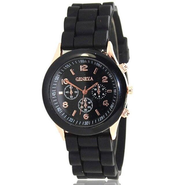 2018 Cheap Silicone Band Quartz Jelly Wrist Watches For Women/Ladies/Girls N Bra
