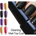 Ali Lowest Price Guaranteed Top Matte Coat Cleaning Matt Coat Nail Gel Polish Matte Top coat LED UV Nails Matt Top Coat