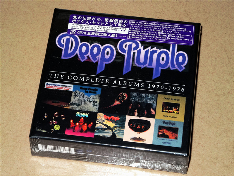 Deep Purple - Complete Album 1970-1976 [CD New] 10CD Japanese Edition deep purple – infinite limited edition cd dvd page 7