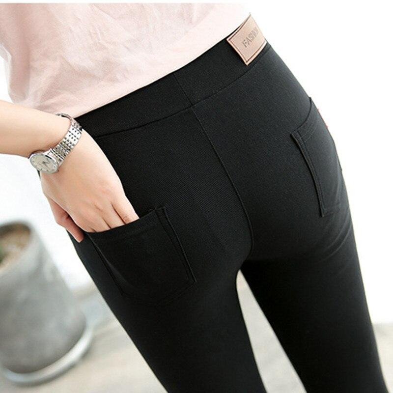 Fashion Women Casual Slim Stretch Leggings Jeggings Pencil Pants Thin Skinny Leggings Womens Clothing