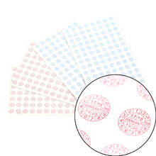 208 шт. 2 цвета- Year10* 10 мм разрушаемая этикетка наклейка гарантия Защитная печать наклейка круглый Размеры