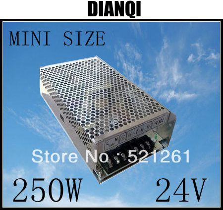 power supply 24v 250w 24V 10A power suply 250w 24v mini size power supply unit led  ac dc converter ms-250-24 retro loft style industrial vintage wall lamp edison wall sconce 2 lights water pipe wall light fixtures home lighting e27 bulb