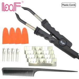 Image 2 - LOOF connecteur pour cheveux pré collés (JR618), plaque Plate pour Fusion chaude, kit doutils