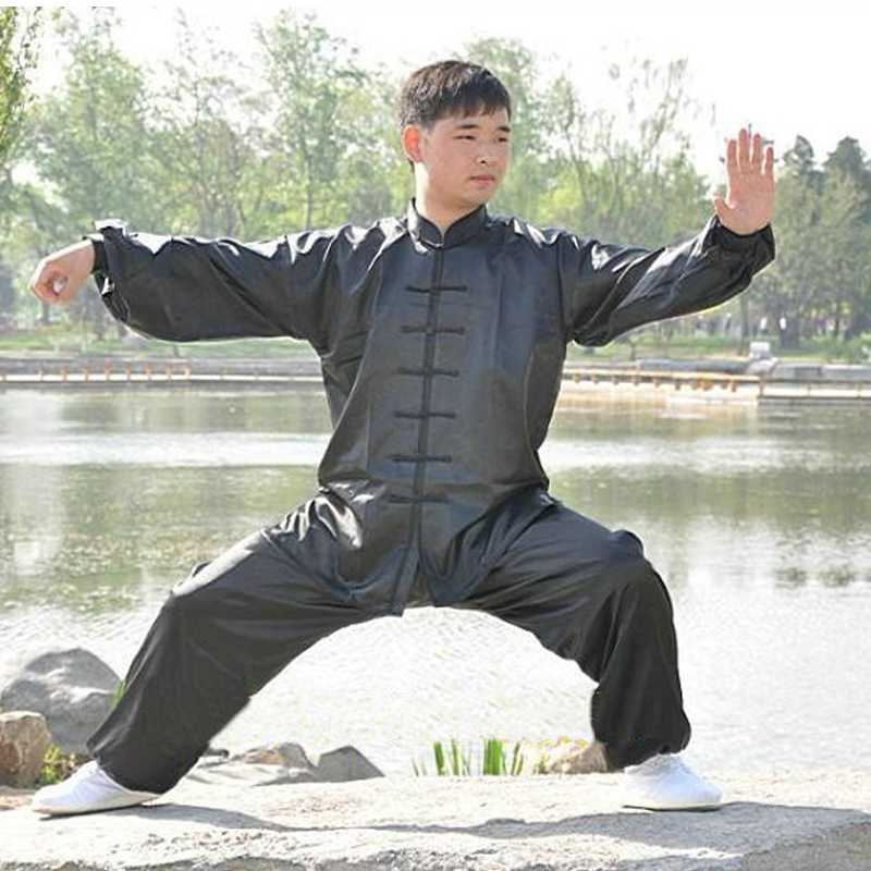 Chinese Kung Fu Tai Chi Uniform Unisex Martial Arts Clothing Wushu Suit Tang Clothing Morning Exercise Suit Free Shipping