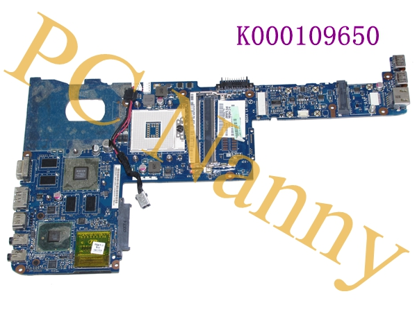 ФОТО Laptop motherboard for toshiba satellite M645 K000109650 NBQAA LA-6072P HM55 NVIDIA Graphics Chip Mother Board -- Tested