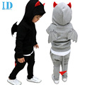 IDGIRL Children Boys Clothing set Baby Boy Batman Sports Suits 2-7 Years Kids 2pcs Sets Spring Autumn Clothes Tracksuits JYM088