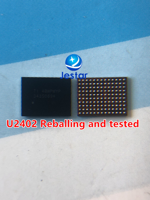 5pcs 10pcs 20pcs  U2402  touch ic for iphone 6 6plus  used reballing balls tested