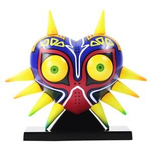 Image 2 - Majoras Mask Majoras Maske mit Licht Tisch Lampe PVC Action Figure Sammeln Modell Spielzeug