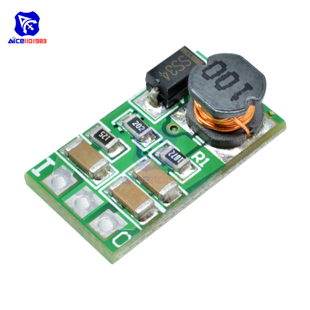 DC-DC DC 5-40V To 3V 3.3V 3.7V 5V 6V 7.5V 9V 12V 1A Buck Step Down Converter Module Voltage Regulator Board Without Pin