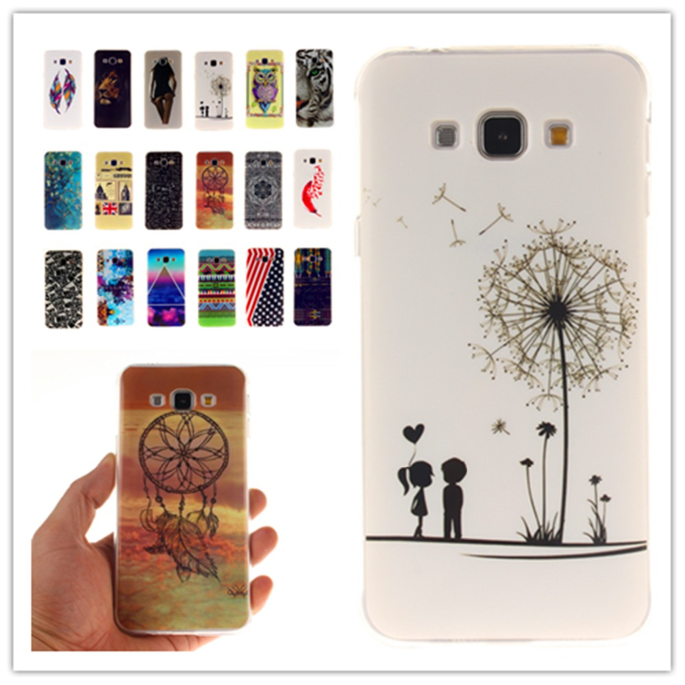 360 Full Cover Soft Silicone Phone Cases Fashion TPU IMD For Samsung series A3 A5 A7 J1 J2 J5 J7 2015 A500F J500F Cover Case