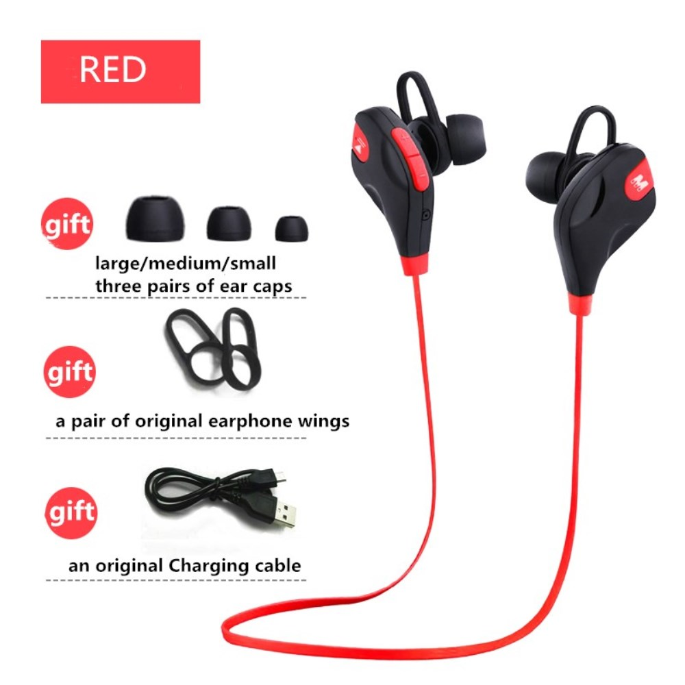 Bluetooth V4.2 mini Wireless Stereo Earphone Noise Reduction Headset outdoor Sports Earbud for Android IPhone Xiaomi A1 Samsung