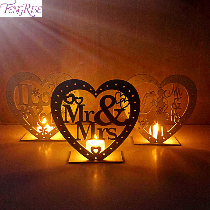 Party Diy Decorations Event & Party Heart Wooden Mr&mrs Heart-shape Romantic Pendant Plate With Led Light Ornament Wedding Table Decoration Wedding Party Suppliess High Resilience