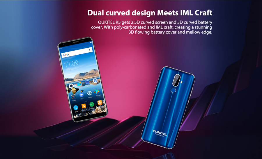 Oukitel K5 18:9 Display 5.7\'\'HD Android 7.0 2GB RAM 16GB ROM ...