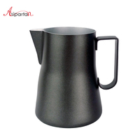 Asipartan 350ml/550ml Stainless Steel Milk Frothing Jugs Espresso Coffee Pitcher Cup Cappuccino Latte Barista Pull Flower Cup