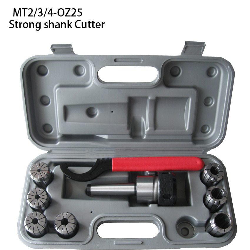 MT2 MT3 MT4 R8 OZ25 OZ32 milling chuck tool holder set for milling machine R8-oz25 powerful shank 8 pieces nt-oz25 set e0c-25 free shipping iso40 nt40 oz25 80mml collet chuck milling toolholder use oz25 collet clapming 3 25mm tools