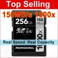 150 1000x МБ/с. 16 ГБ 32 ГБ SDHC SD Card 64 ГБ 128 ГБ 256 ГБ SDXC UHS-II U3 Флэш-Карты Памяти Для 3D 4 К Цифровые ЗЕРКАЛЬНЫЕ Камеры HD Видеокамера