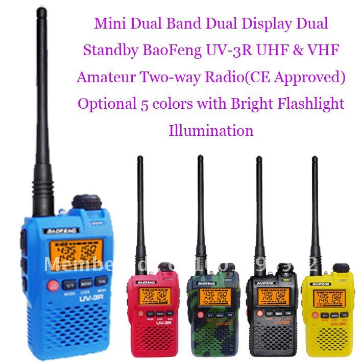 New Arrival Mini Pocket Dual Band Dual Frequency Dual Display Dual Standby UV-3R UHF& VHF Two-way RadioNew Arrival Mini Pocket Dual Band Dual Frequency Dual Display Dual Standby UV-3R UHF& VHF Two-way Radio