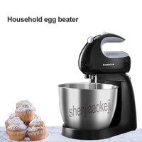 Automatic Electric egg beater handheld/desktop-dupla utilização cap agitação creme de leite batedeira Doméstica máquina de 220 v/ hz 150 w 1 50 pc